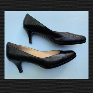 Cole Haan Shoes - Black Square Toe Pumps
